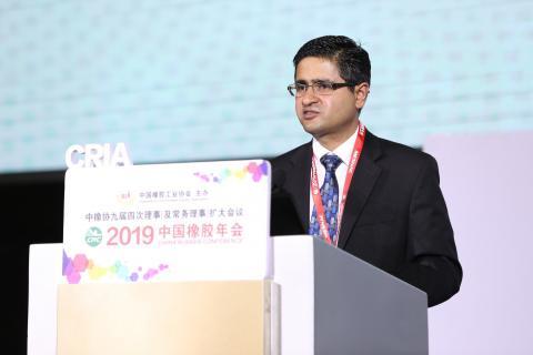 埃克森美孚化工丁基乐动体育平台注册北美市场开发经理Sujith Nair